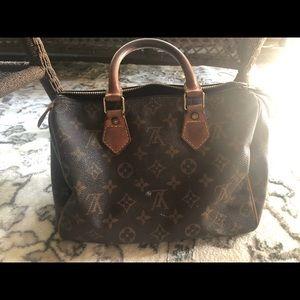 Mini Louise Vuitton makeup bag
